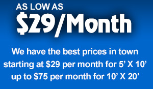 As Low as $29 Per Month